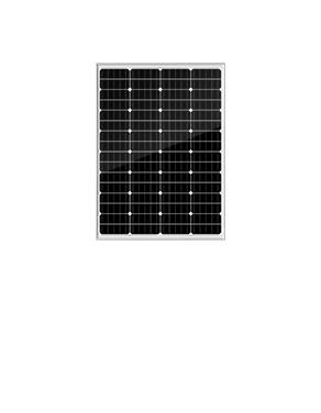 墨格100W64片串單晶太陽能電池板,5年產品質保,25年使用壽命
